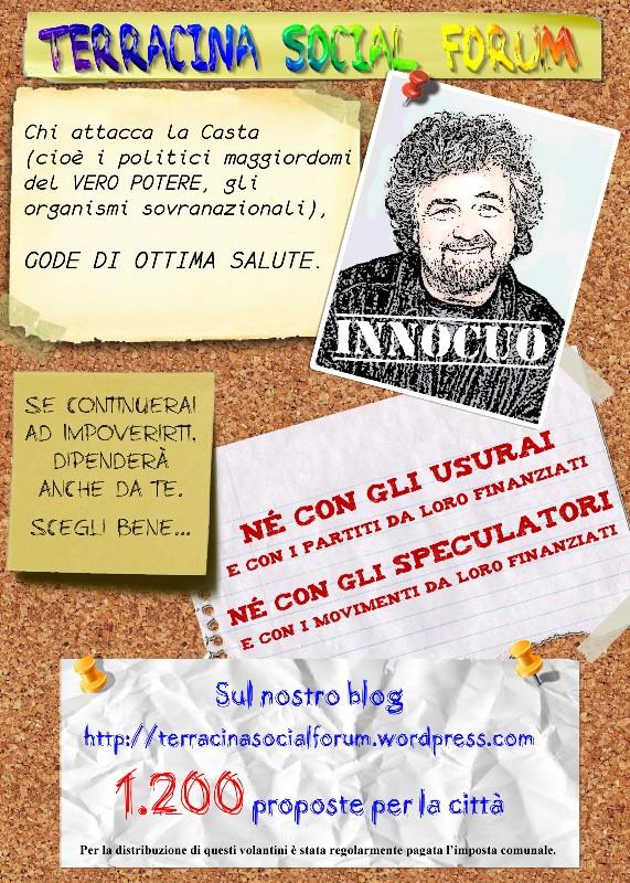 7000 Proposte Per La Città Terracina Social Forum